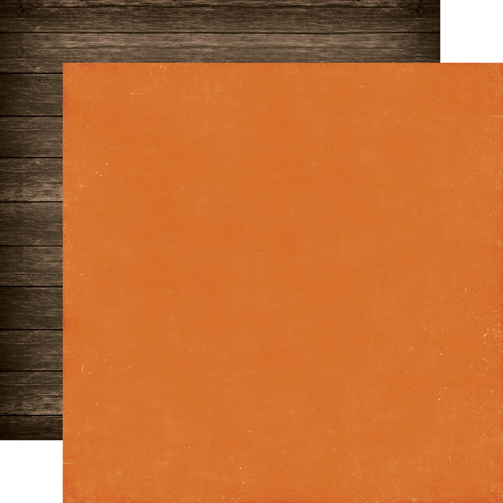 ILF113017 Orange/Woodgrain<br> Coordinating Solid