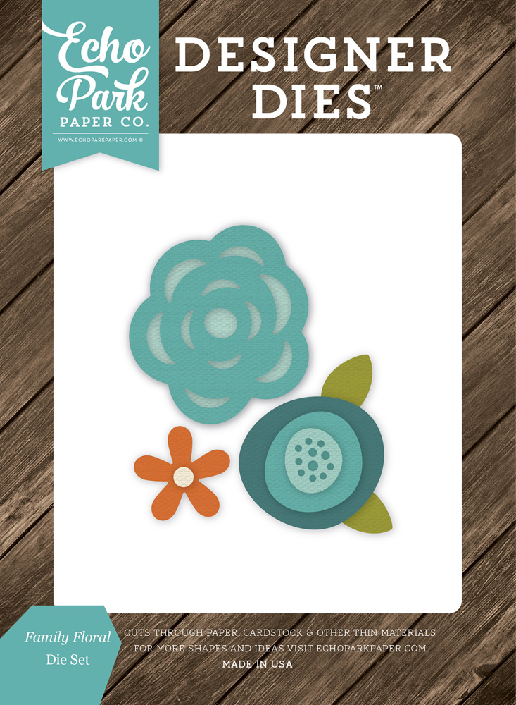 ILF113040 Family Floral <br>Die Set