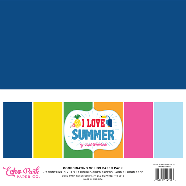 SU178015 I Love Summer Solids Kit