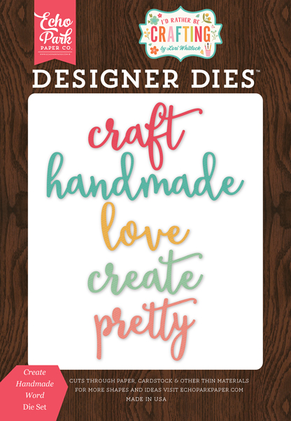 IBC138041 Create Handmade Word <br>Die Set