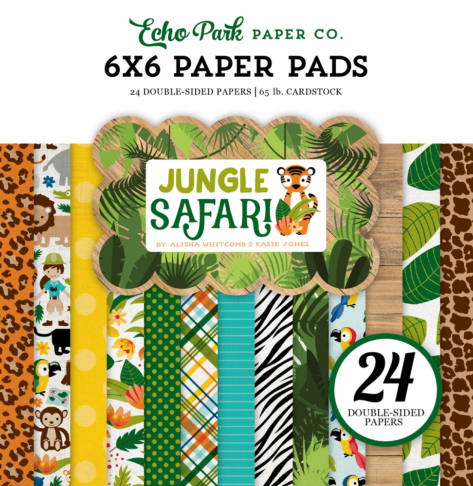 JS117023 Jungle Safari Paper Pad