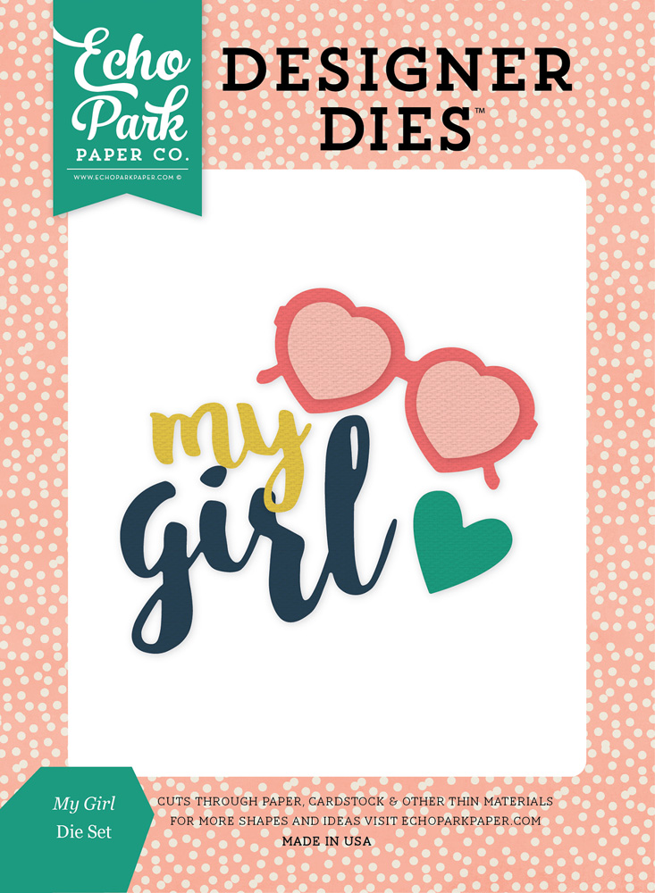 JBY119044 My Girl <br>Die Set
