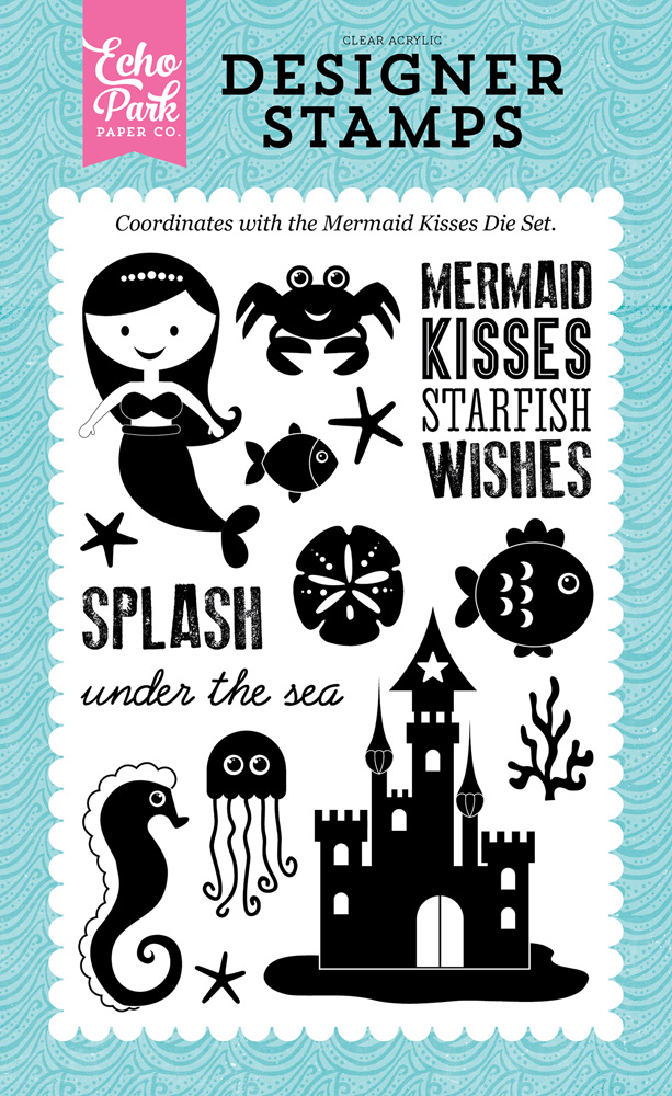 LBM110045 Mermaid Kisses Stamp
