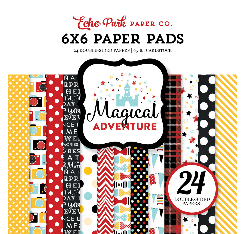MA109023 Magical Adventure 6x6 Paper Pad