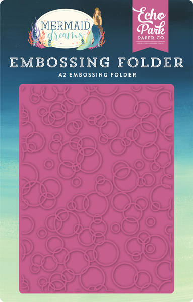 MDR175032 Bubbles Embossing Folder