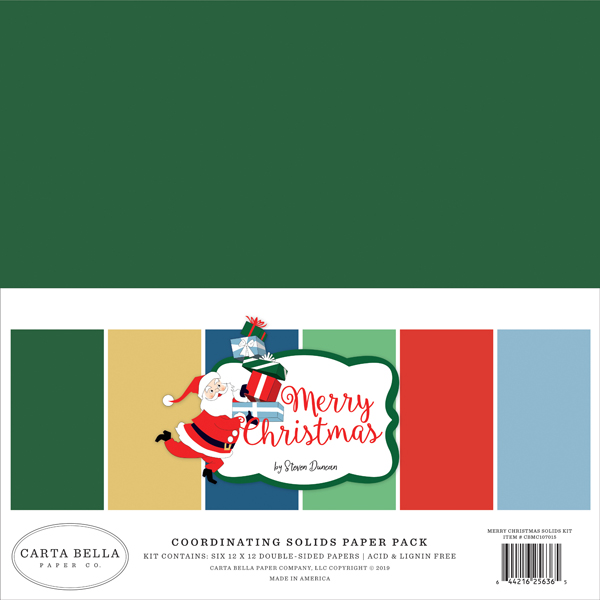 CBMC107015 Merry Christmas Solids Kit