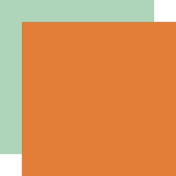 MFF187018 Orange Mint Coordinating Solid