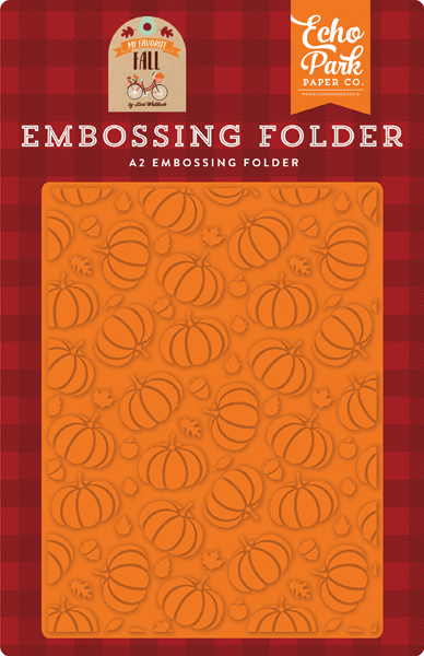 MFF187032 Pumpkin Patch Embossing Folder