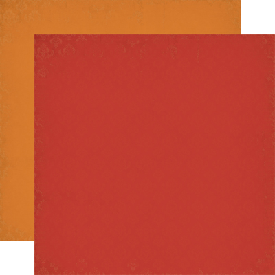 OUB123017 Red Orange - Coordinating Solid