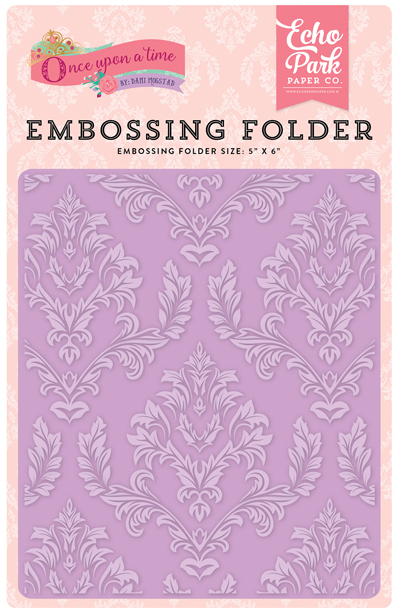 OUG122032 Embossing Folder - Enchanted Damask