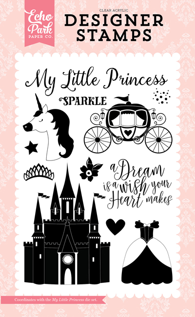 OUG122046 My Little Princess Stamp