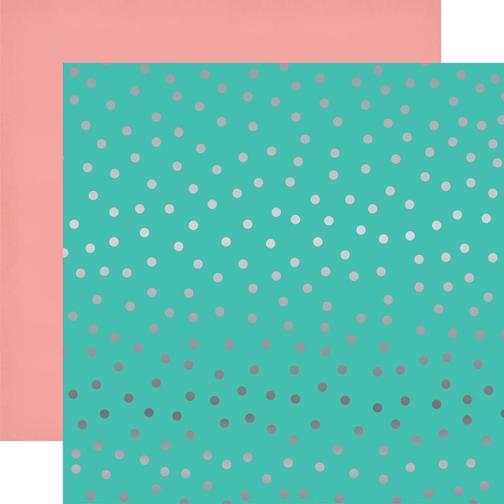 Scrapbook paper echo park - Pt108052 Random Dot Foil