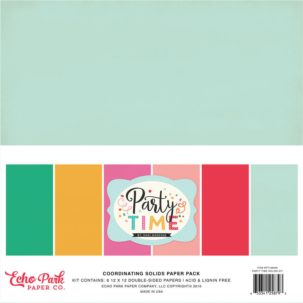 PT108060 Coordinating Solids Paper Pack
