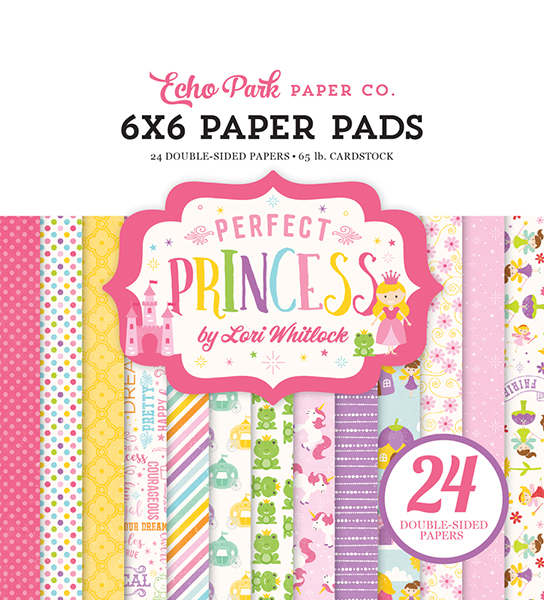 PP130023 Perfect Princess 6x6 Paper Pad