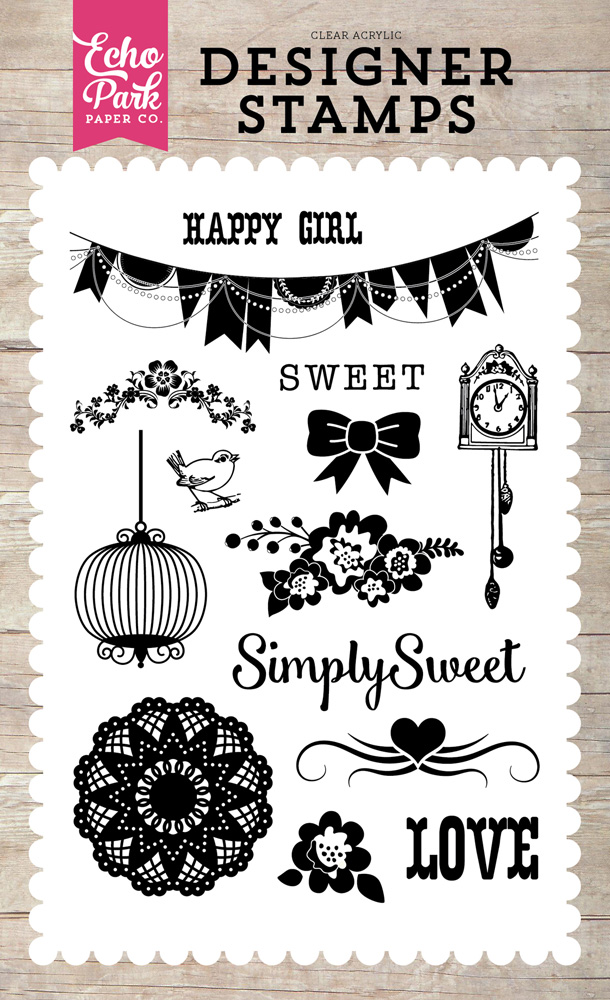 PC103045 Simply Sweet Stamp