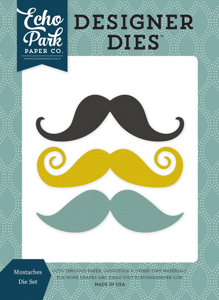 PS104042 Mustaches <br>Die Set