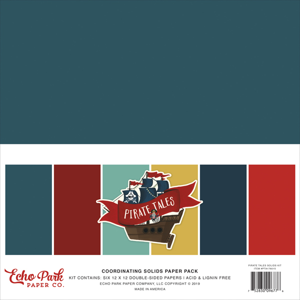 PTA176015 Pirate Tales Solids Kit