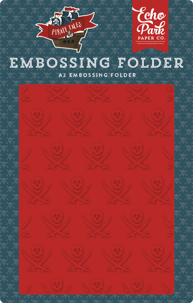 PTA176031 Buccaneer Embossing Folder