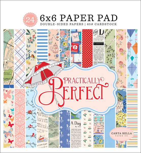 CBPP81023 Practically Perfect 6x6 Paper Pad