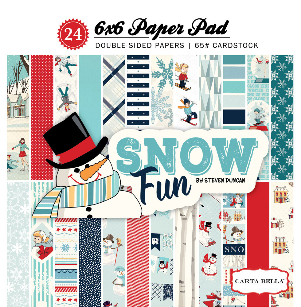 CBSF59015 Snow Fun 6x6 Paper Pad