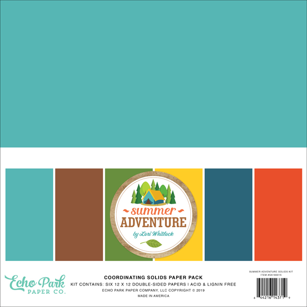 SA180015 Summer Adventure Solids Kit