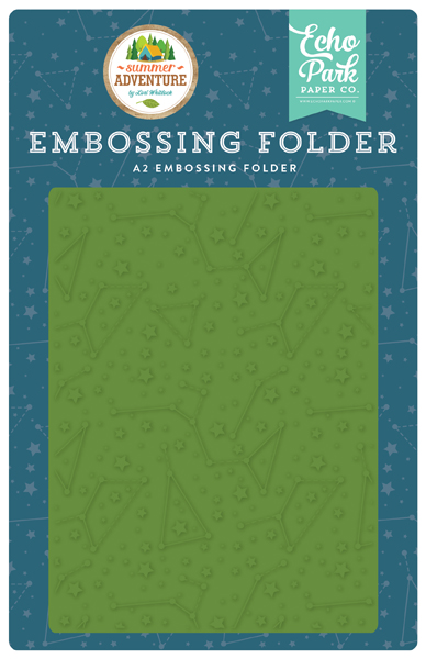 SA180031 Constellations Embossing Folder