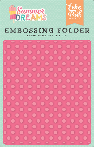 DR126031 Embossing Folder - Sunny Dot