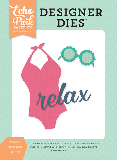 DR126040 Summer Essentials <br>Die Set