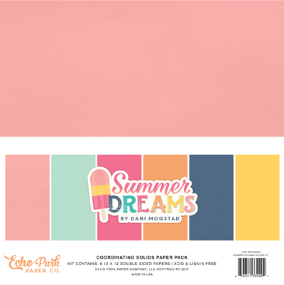 DR126060 Summer Dreams Solids Pack