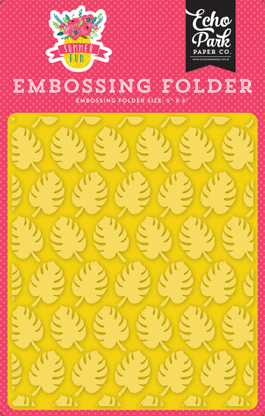 SF125032 Embossing Folder - Perfect Palm