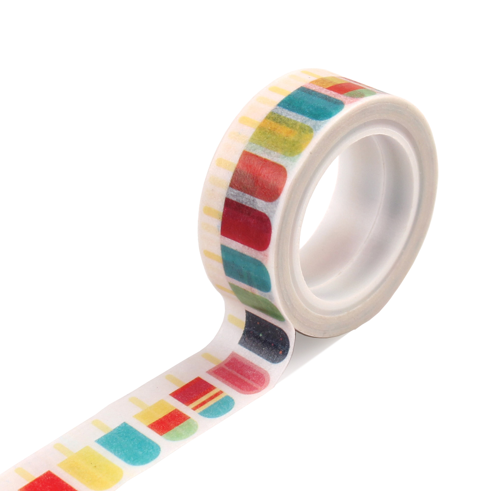SP106026 Decorative Tape - Popsicles