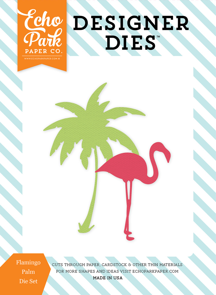 SP106042 Flamingo Palm <br>Die Set