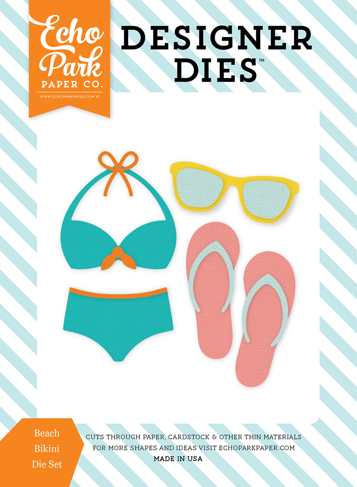 SP106044 Beach Bikini <br>Die Set