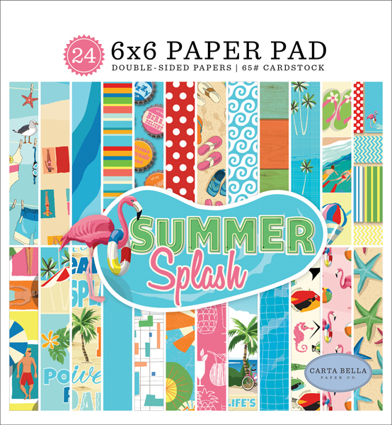 CBSPL83023 Summer Splash 6x6 Paper Pad