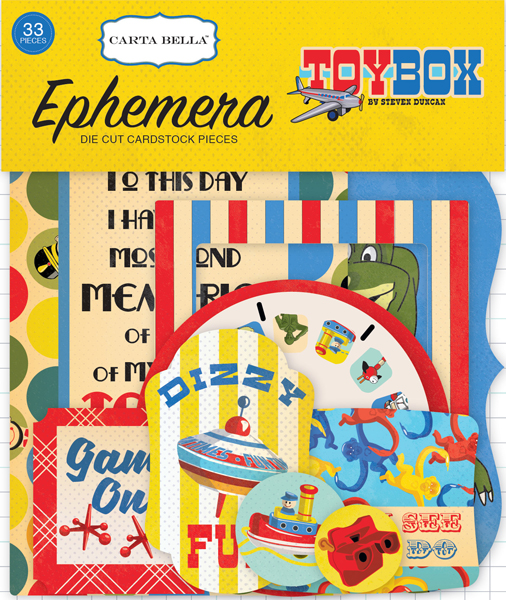 CBTB66024 Toy Box Ephemera
