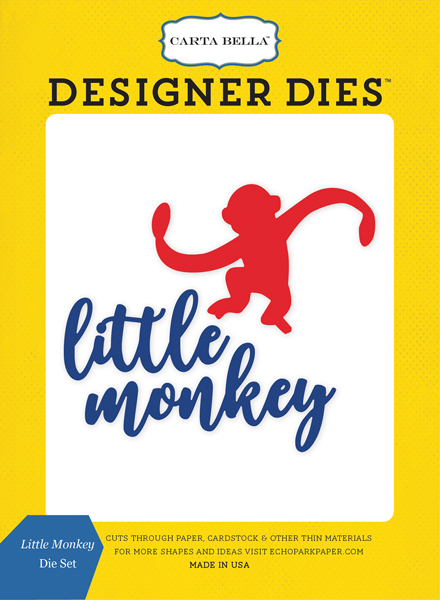 CBTB66040 Little Monkey <br>Die Set