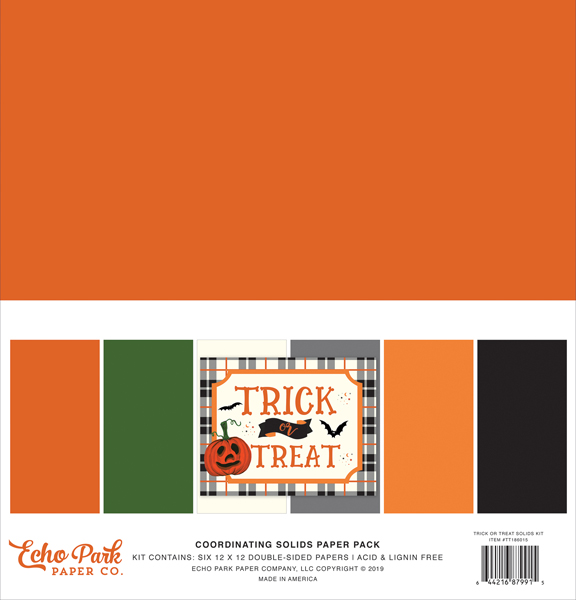 TT186015 Trick or Treat Solids Kit