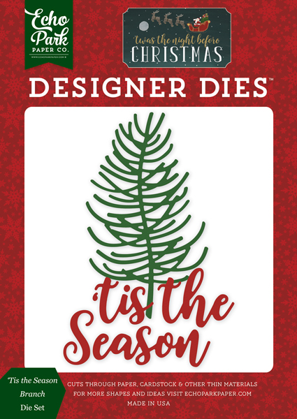 TNC134042 Tis the Season Branch <br>Die Set