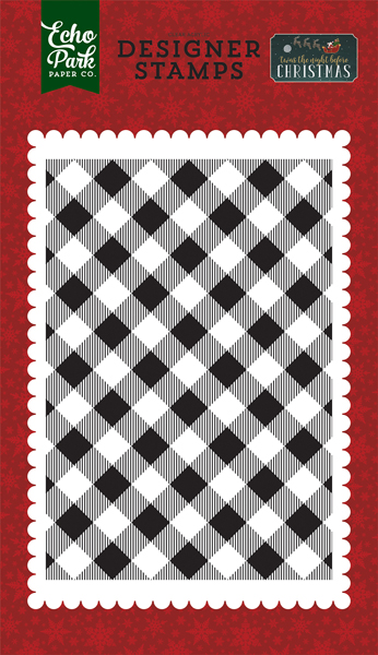 TNC134047 Holiday Buffalo Plaid Stamp