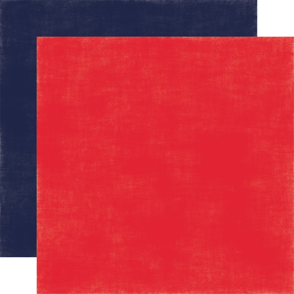 US131018 Red / Navy - Coordinating Solid