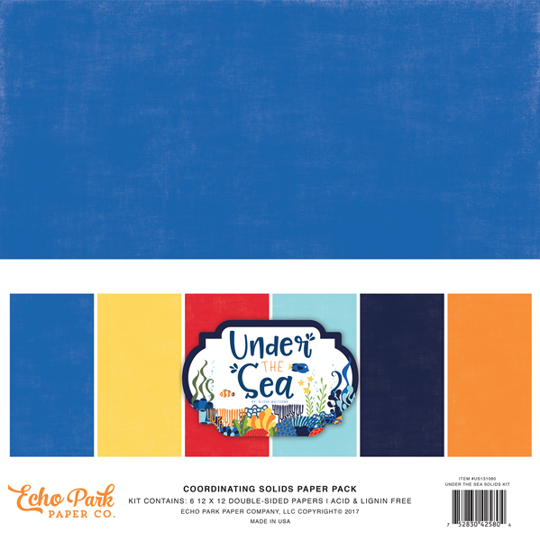 Under the Sea Solids Pack
