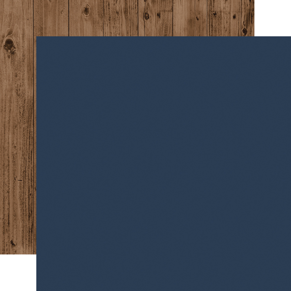 WC194019 Dk Blue Woodgrain Coordinating Solid