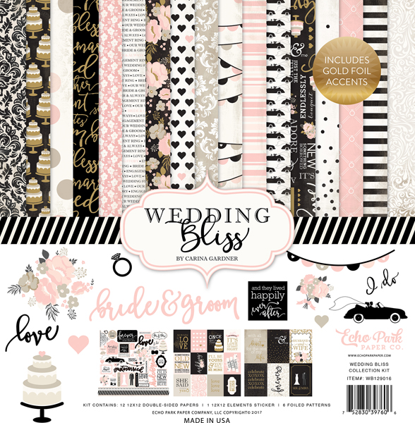 WB129002 Wedding Floral - Foil