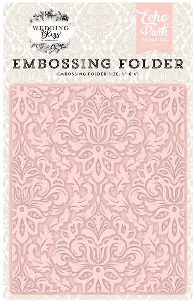 WB129031 Embossing Folder - Dainty Damask
