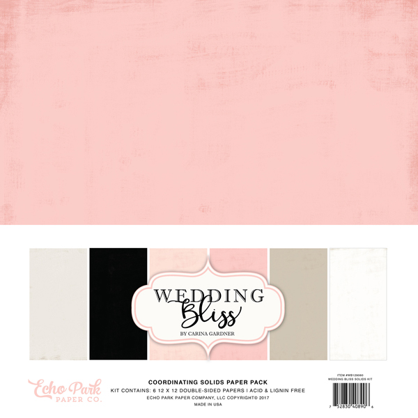 WB129060 Wedding Bliss Solids Kit