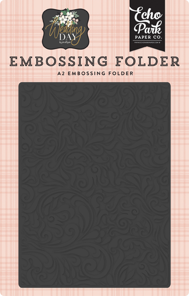 WD181032 Elegant Damask Embossing Folder