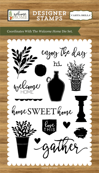 CBWHO74046 Welcome Home Stamp