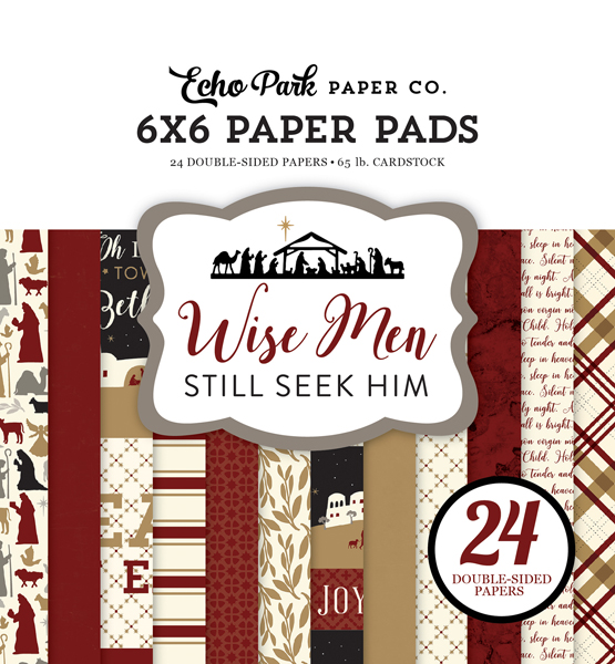 WM137023 Wise Men Still Seek Him 6x6 Paper Pad