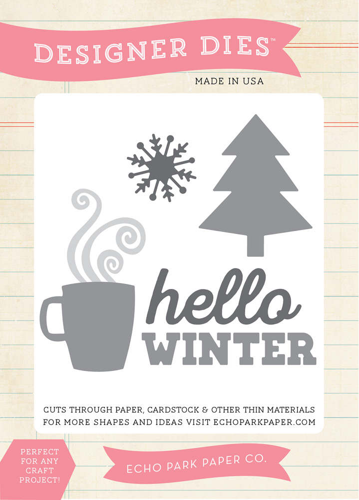 HW95042 Hello Winter Medium Die
