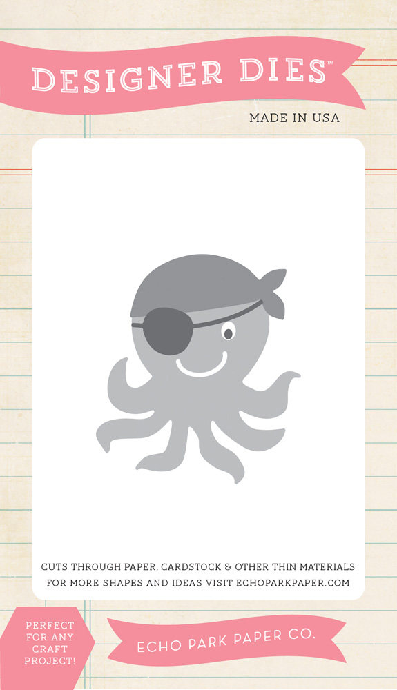 PL89040 Pirate Octopus Die